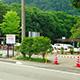 菅の台 タクシー乗り場移転