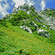 山頂駅標高日本一 駒ヶ岳ロープ—ウェイは夏の最盛期